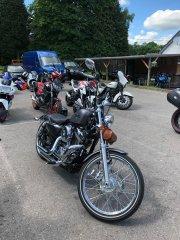 Adrian's Harley Sportster
